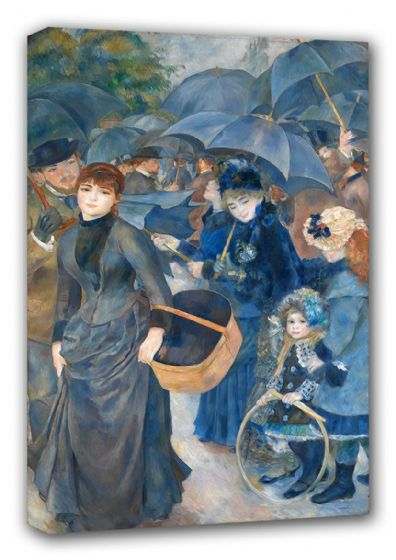 Renoir, Pierre Auguste: The Umbrellas. Fine Art Canvas. Sizes: A3/A2/A1 (00180)